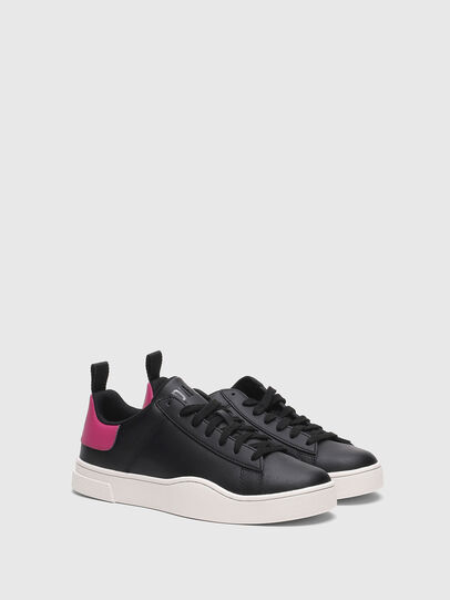 Diesel - S-CLEVER LOW LACE W, Black/Pink - Sneakers - Image 2