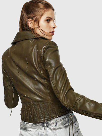 Diesel - L-SINYA-A,  - Leather jackets - Image 2