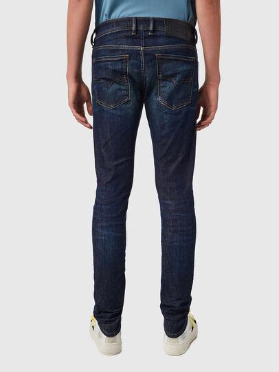 Diesel - Sleenker 09B07, Dark Blue - Jeans - Image 2