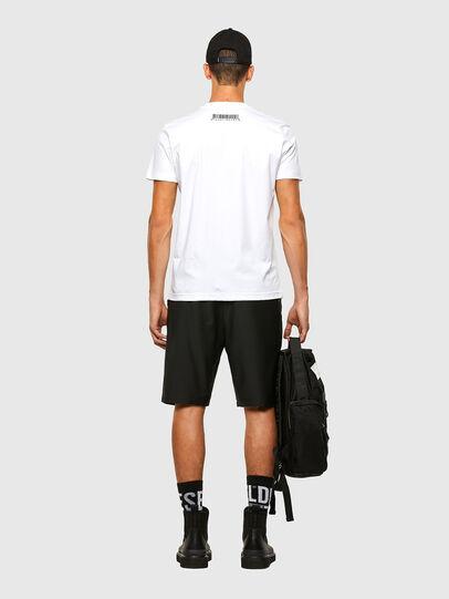 Diesel - P-RUST-SHO, Black - Shorts - Image 6