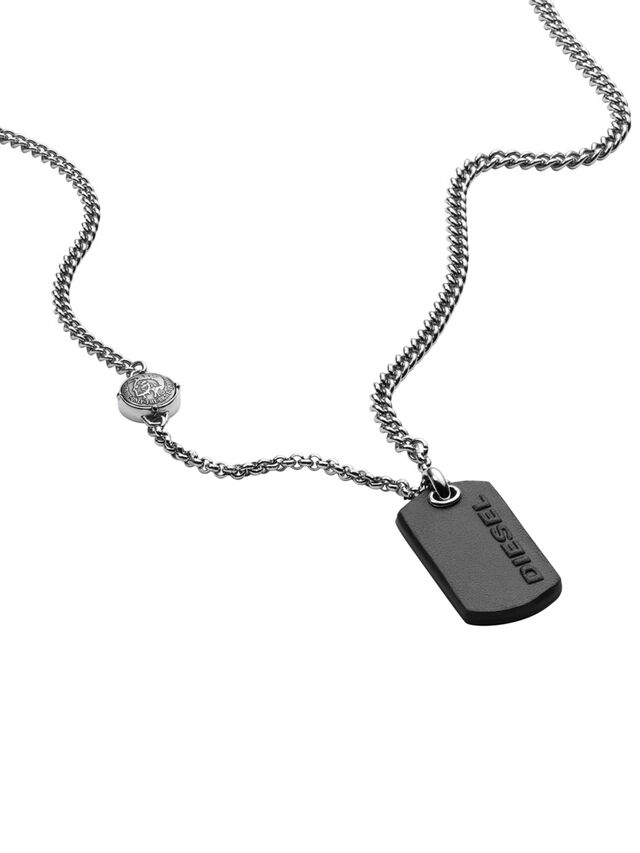 NECKLACE DX1012, Silver