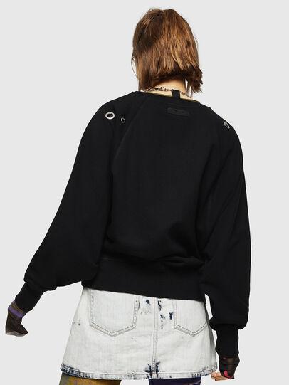 Diesel - F-HENNY-B, Black - Sweaters - Image 2