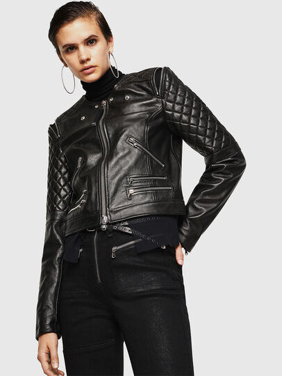 Diesel - LIVIA,  - Leather jackets - Image 4