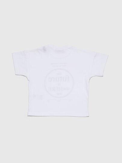 Diesel - TARTIB, White - T-shirts and Tops - Image 2
