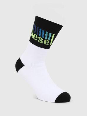 SKM-RAY, White/Black - Socks