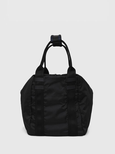 Diesel - D-CAGE SHOPPER, Black - Shopping and Shoulder Bags - Image 3