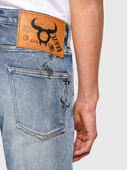 Diesel - D-Kras 009VW, Light Blue - Jeans - Image 4