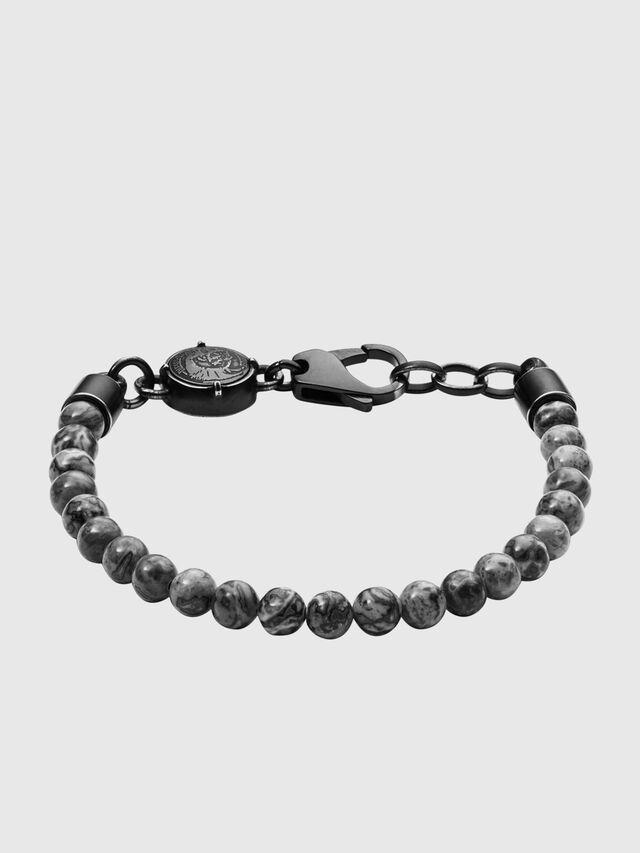 Diesel BRACELET  DX1015, Dark grey - Bracelets - Image 1