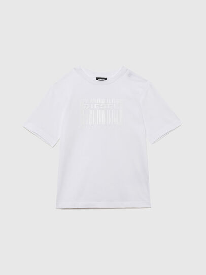 Diesel - TUDERCODE OVER, White - T-shirts and Tops - Image 1