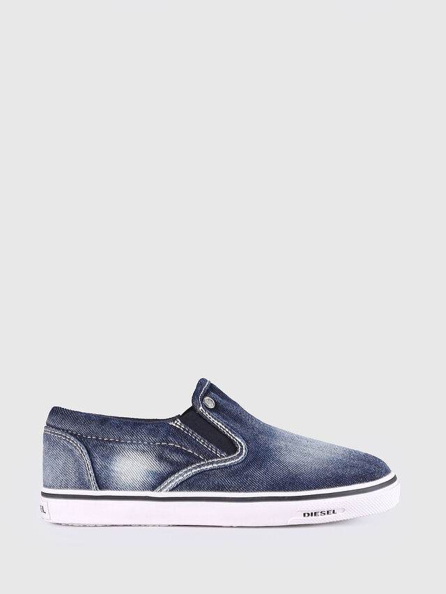 Diesel - SLIP ON 21 DENIM YO, Blue Jeans - Footwear - Image 1