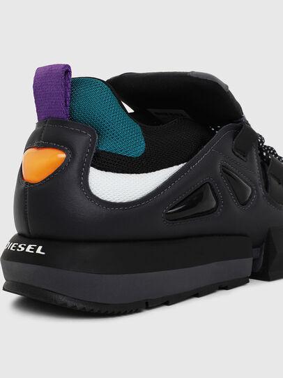 Diesel - H-PADOLA LOW S, Black - Sneakers - Image 4
