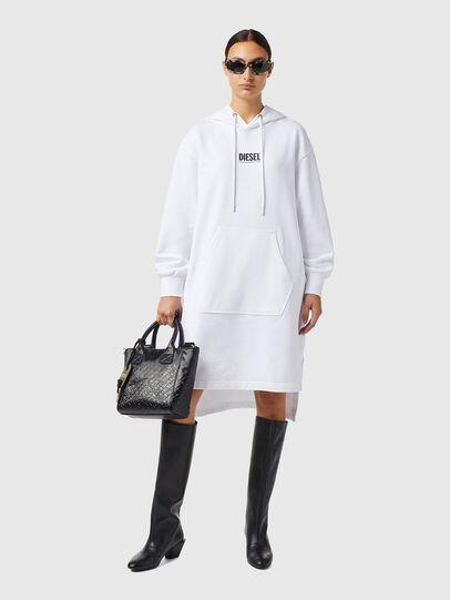 Diesel - D-ILSE-ECOSMALLOGO, White - Dresses - Image 1