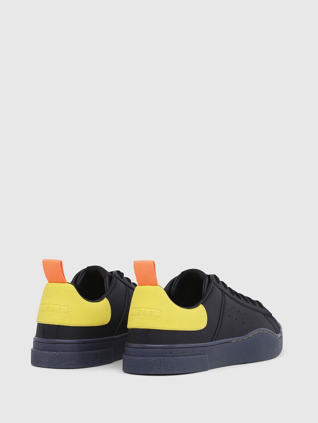 Diesel - S-CLEVER LOW, Black/Yellow - Sneakers - Image 3