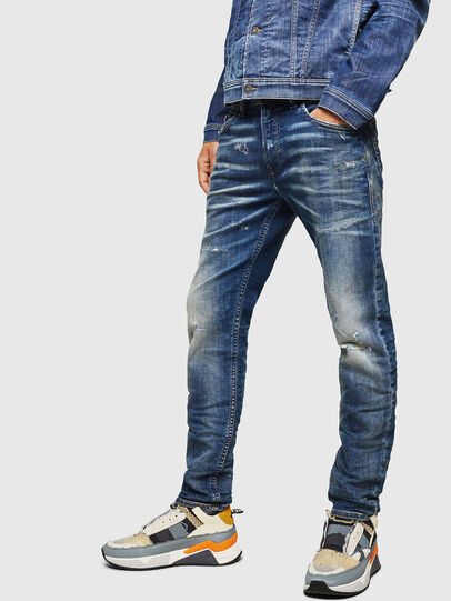 Diesel - Thommer JoggJeans 0870Q, Medium blue - Jeans - Image 4