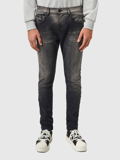 Diesel - D-Strukt JoggJeans® 09B04, Black/Dark grey - Jeans - Image 1