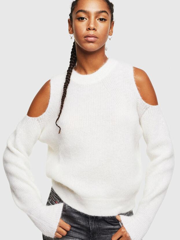 M-LARA, White - Knitwear