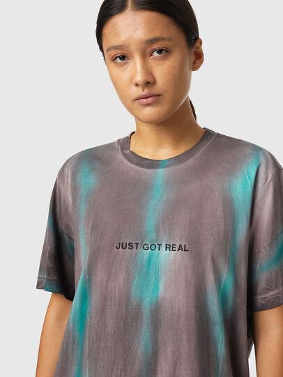 Diesel - T-JUST-B52, Pink/Green - T-Shirts - Image 6