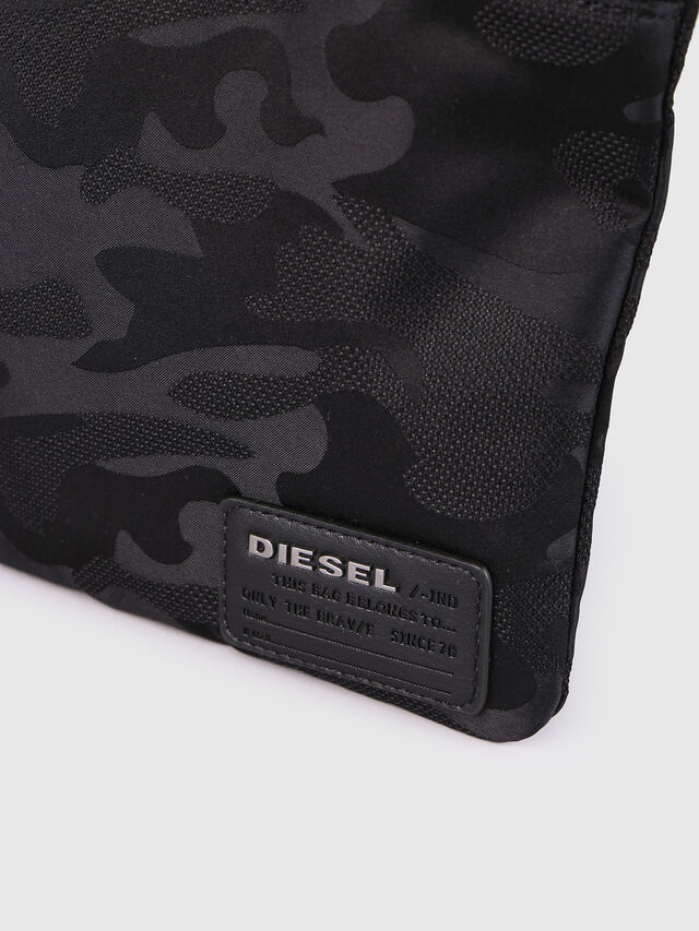 Diesel - F-DISCOVER CROSS, Black - Crossbody Bags - Image 4