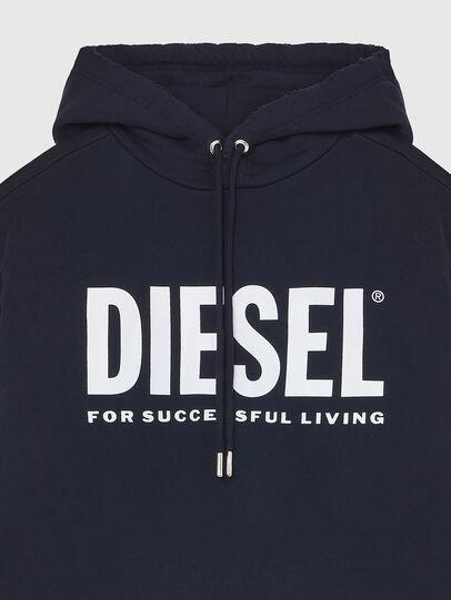 Diesel - S-GIR-HOOD-DIVISION-, Dark Blue - Sweaters - Image 3