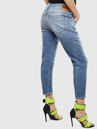 Diesel - Fayza 0099M, Medium blue - Jeans - Image 2