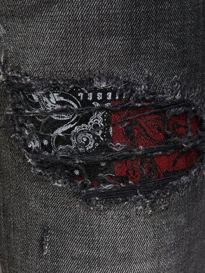 Diesel - D-Jevel 009JN, Black/Dark grey - Jeans - Image 4