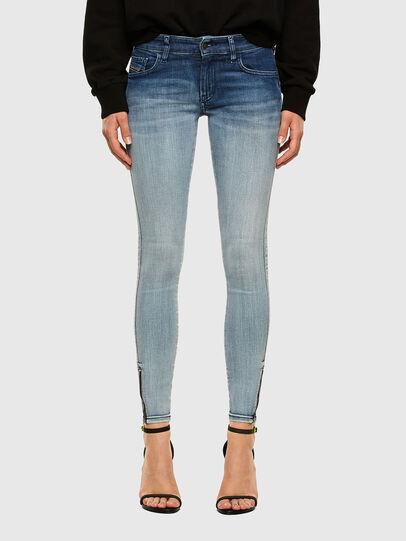 Diesel - Slandy Low 009CV, Light Blue - Jeans - Image 1