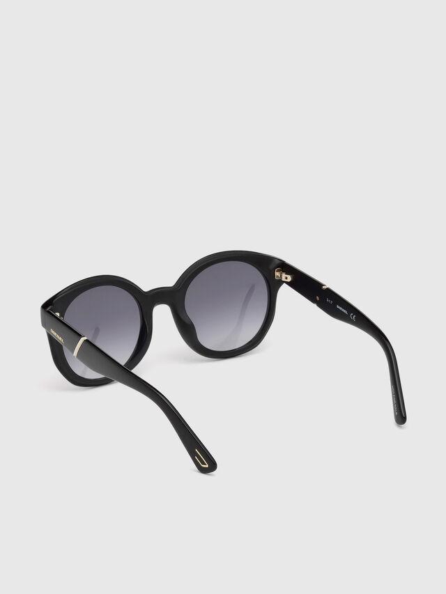 Diesel - DL0252, Black - Eyewear - Image 2