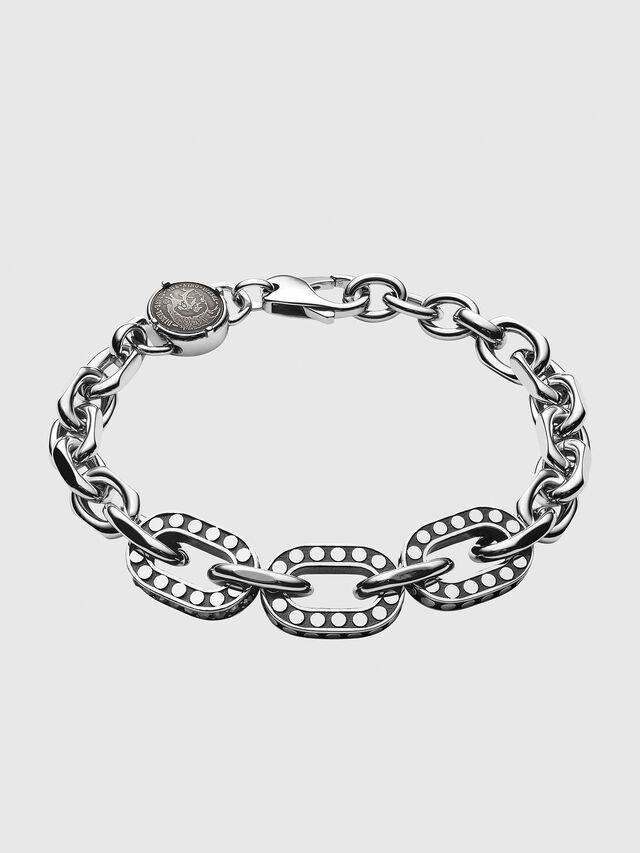 Diesel - DX1166, Silver - Bracelets - Image 1
