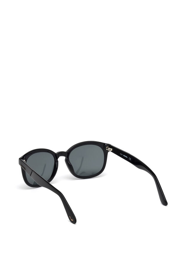 Diesel - DM0190, Black - Eyewear - Image 2