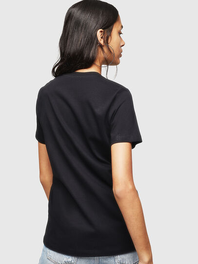 Diesel - T-SILY-WX, Black - T-Shirts - Image 2
