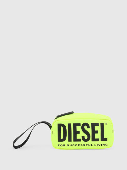 Diesel - BOLD POUCH, Yellow - Bags - Image 1