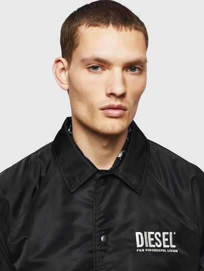 Diesel - J-AKIO-A, Black - Jackets - Image 3