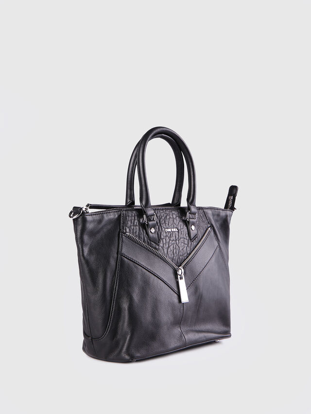 Diesel LE-NINNA, Black - Shopping and Shoulder Bags - Image 2