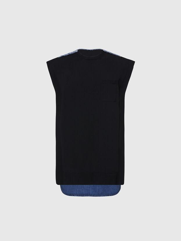 M-BYRNE, Black/Blue - Dresses