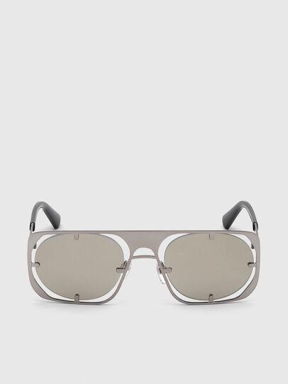 Diesel - DL0305, Gray/Black - Sunglasses - Image 1