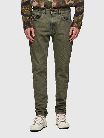 Diesel - D-Strukt 09A50, Military Green - Jeans - Image 1