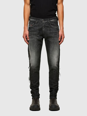 D-Strukt 009HY, Black/Dark grey - Jeans