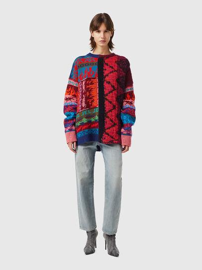 Diesel - M-VIVYAN, Red/Pink - Knitwear - Image 4