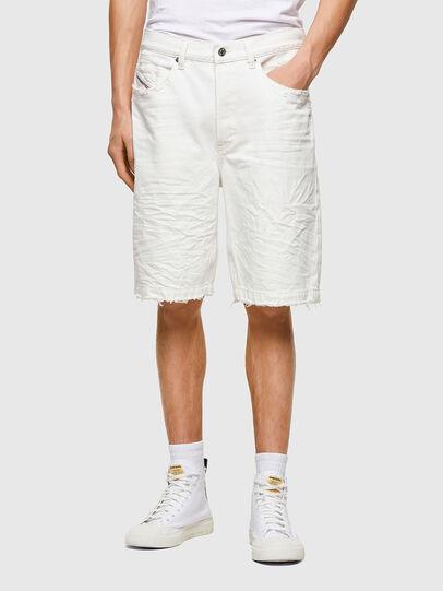 Diesel - D-MACS-SHORT, White - Shorts - Image 1
