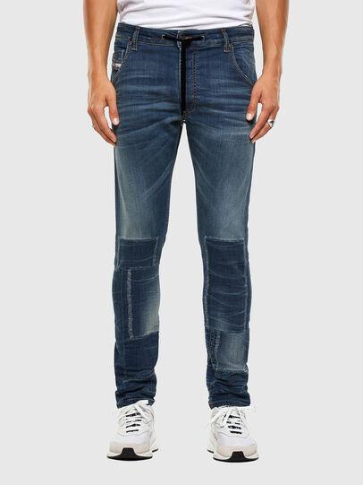 Diesel - KROOLEY JoggJeans® 069NK, Medium blue - Jeans - Image 1