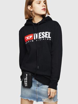 F-GIR-HOOD-DIVISION-, Black - Sweaters