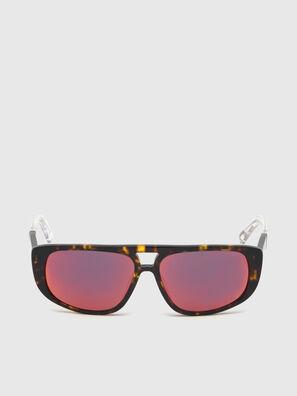 DL0306, Brown/White - Kid Eyewear