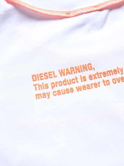 Diesel - TJUSEAM, White - T-shirts and Tops - Image 3