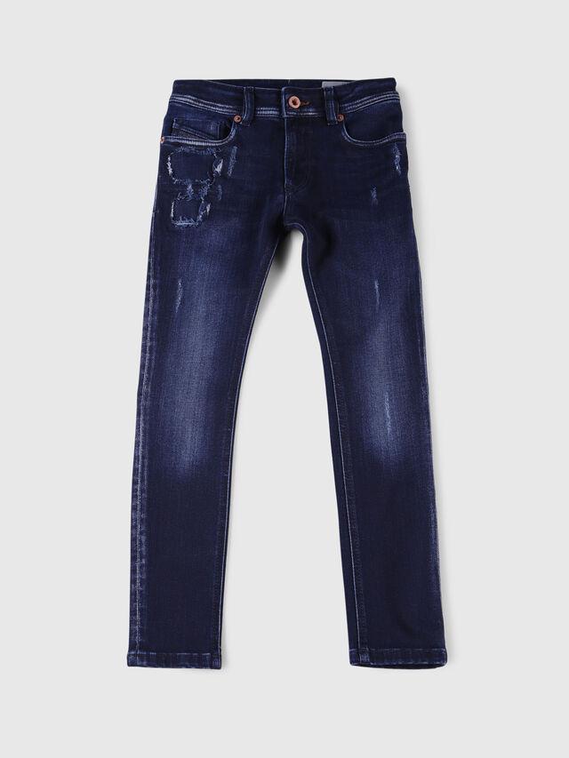 Diesel - SLEENKER-J-N, Dark Blue - Jeans - Image 1