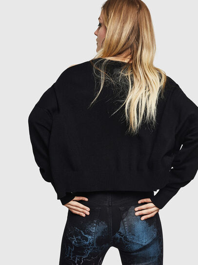 Diesel - M-NETTY, Black - Knitwear - Image 2