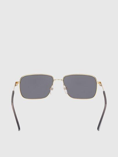 Diesel - DL0354, Black/Gold - Sunglasses - Image 4