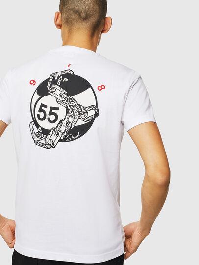 Diesel - T-DIEGO-J16, White - T-Shirts - Image 2
