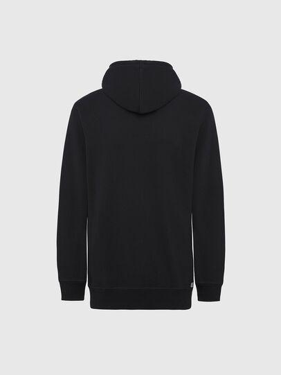 Diesel - UMLT-BRANDON-Z, Black/Silver - Sweaters - Image 2