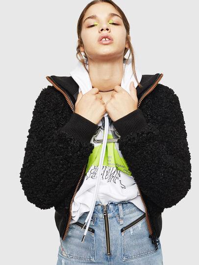 Diesel - L-TOSHA,  - Leather jackets - Image 5