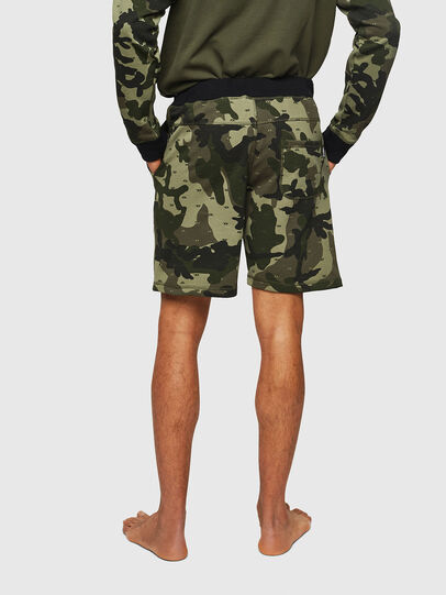 Diesel - UMLB-PAN, Green Camouflage - Pants - Image 2